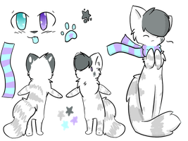 Aura Reference Sheet -READ DESCRIPTION- by starsleeps