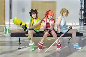 Power Puff Girls Z by kawaiiKumo