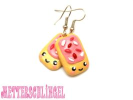 Kawaii Poptart Earrings by Metterschlingel