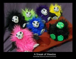 A Sneak of Weedoos by WormsandBones