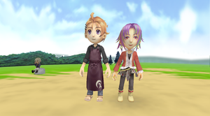 MMD+Julius and Chase+Harvest Moon by 25animeguys