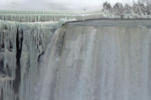 A wall of water and ice. by MrsPepper