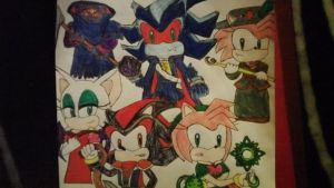 Castlevania: Sonic Style by SweetGems