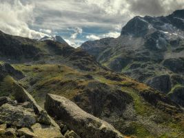 The Wild Eastern Alps by Burtn