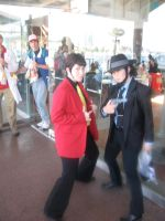 Lupin and Jigen by AngstyGuy