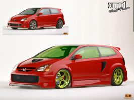 ..::Civic Si Concept::.. by xmod