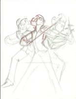 Wilson gesture drawing sketch by DreamWithinTheHeart