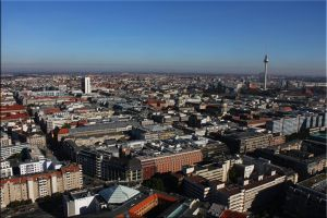 Over the roofs of Berlin by iCoffeeholic