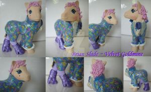 My little Pony Custom Brian Slade by BerryMouse