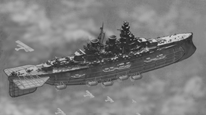 Aerodreadnought of the 4th Cruiser Squadron by ColorCopyCenter