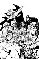 JLA Commission by skulljammer