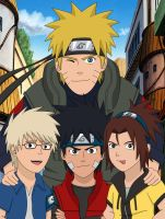 Team Naruto by PerfectDB