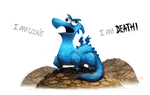 Day 530. Sketch Dailies Challenge - Cookie Monster by Cryptid-Creations