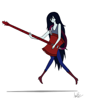 Marceline the Vampire Queen by Joy-Pedler