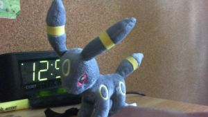 My Plushie Umbreon by Dracoknight545