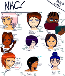 Ninja Kitty Clan! Male List of members by NeycuuRose1