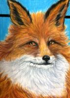 Orange Fox by tiletable