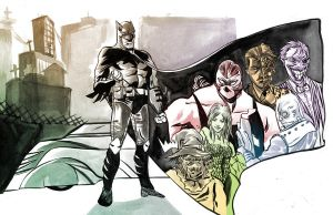 Batz and the Villains by tee00