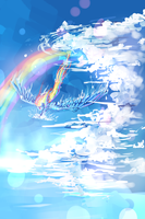 Rainbow dash MLP (doodle) by AquaGalaxy