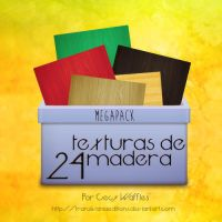 24 Texturas de madera by TransilvaniaEditions