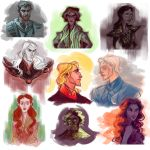 ASoIaF/GoT sketch dump by kallielef