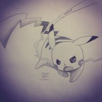 Pikachu by imamarwal