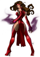 Scarlet Witch by Joe Mad by leonx