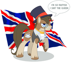 I'm so British by NabbieKitty