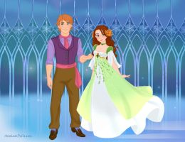 Snow Queen Scene Maker: Oz: Tip and Ozma by Saphari
