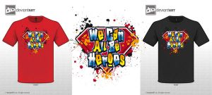 We Can All Be Heroes Tee by Killswitch-Chris