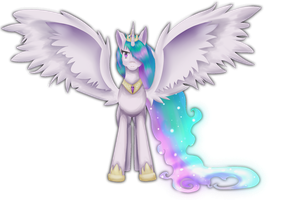 Princess Celestia by Nalenthi