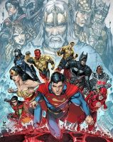 Injustice Y4 Cover 1 by RexLokus