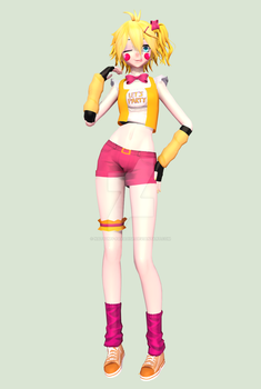 [MMD] [WIP] Toy Chica-Final by Natsumy-Paradise