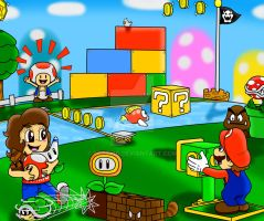Request: Super Mario 3D Land: Cerca del banderin!! by SuperLakitu