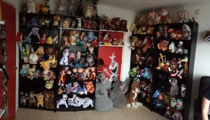 My Disney plush collection in may 2014 by 101sanneferdi