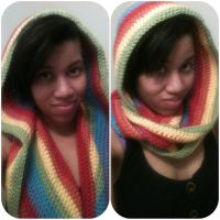 Hoodie cowl.. thing lol by jely-claris-anne