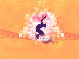 Wallpaper Fly by andzia89