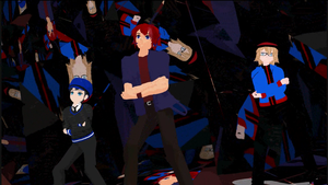 MMD Shattered Stage by mbarnesMMD