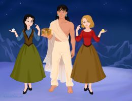 Snow Queen- RtED Genderbend by ajhistoric2