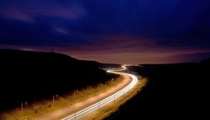 M62 dark river by richardjwakefield