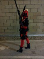 Lady Deadpool by Drunkleycp
