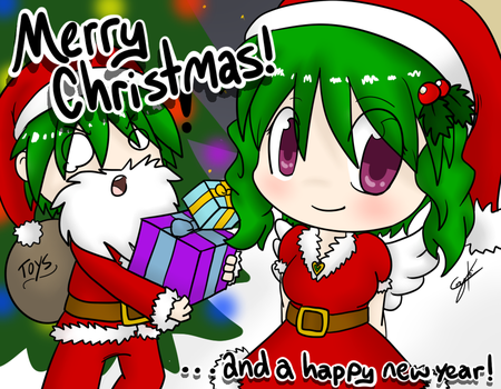 Merry Christmas!! by Caramelcat123