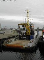 Dutch tug (ex-Smit Beluga 2010-2015) Sea Beluga by roodbaard1958