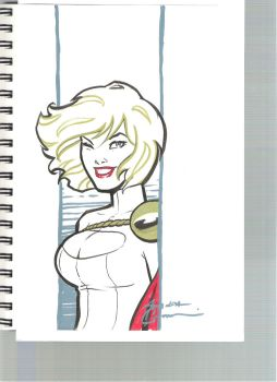 Power Girl by Amanda Conner by Def-Force