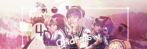 Taehyung Banner 4DCharms by kpopblackout