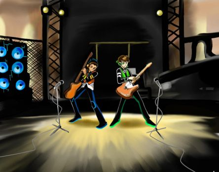 Rocking Out by Reinrassic-the-5th