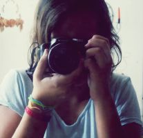 Me,and my new camera by isatere