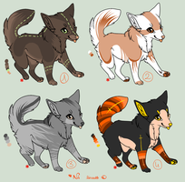 Adoptables! {CLOSED} by SusuSmiles
