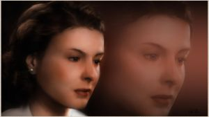 Ingrid Bergman Painting by chamirra