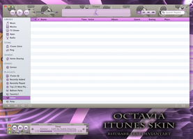 Octavia iTunes skin by rhubarb-leaf